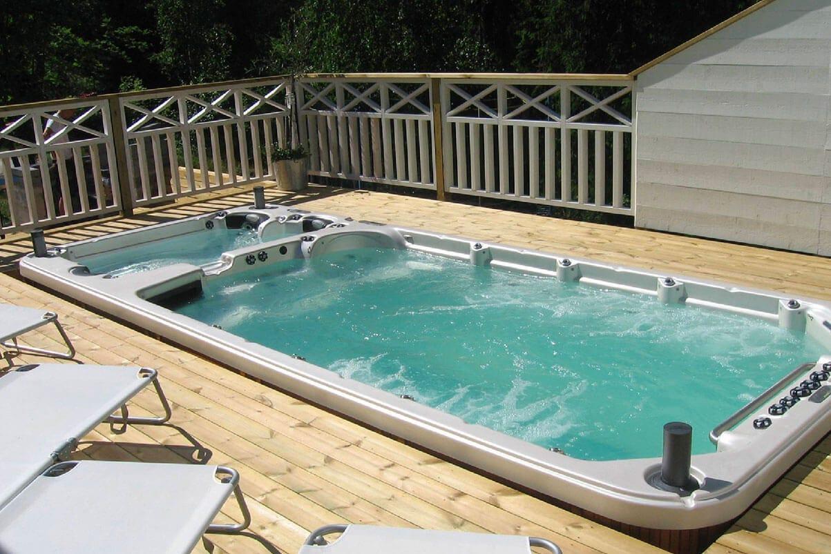 Dual Temp Swim Spa