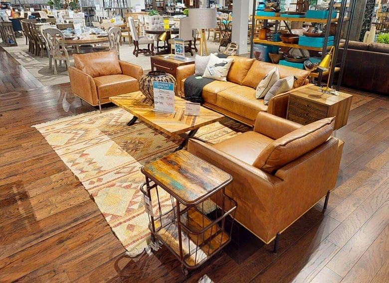 Indoor Furniture Showroom at Watson's